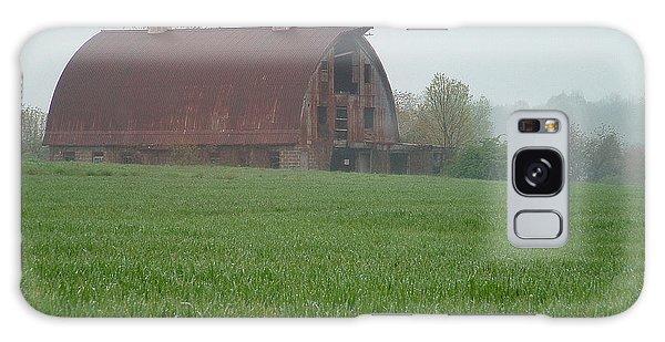 Barn In Summer Galaxy Case