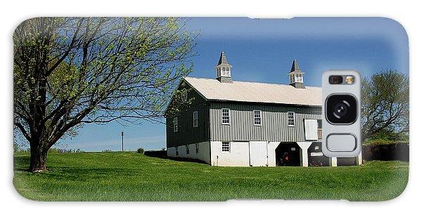 Barn In The Country - Bayonet Farm Galaxy Case