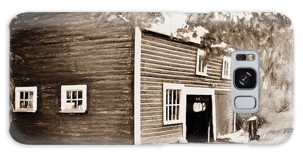 Barn In The Woods Galaxy Case by Rena Trepanier