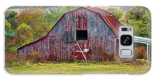 Barn On White Oak Road 2 Galaxy Case