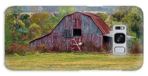 Barn On White Oak Road Galaxy Case
