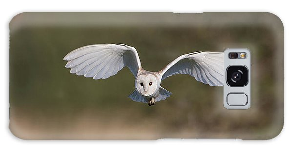 Barn Owl Approaching Galaxy Case