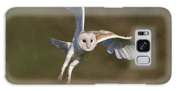 Barn Owl Cornering Galaxy Case