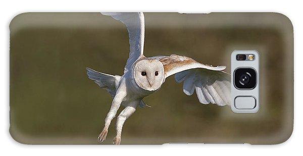 Barn Owl Cornering Galaxy Case