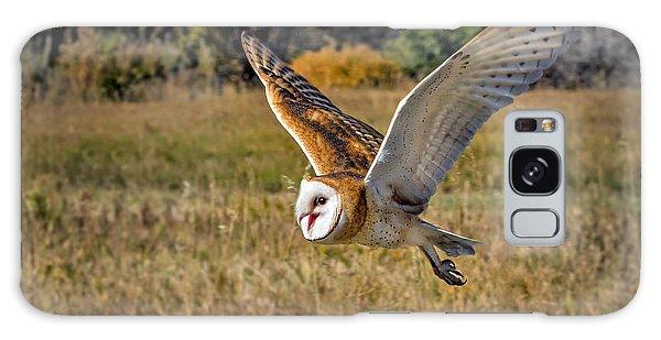 Barn Owl Flight 6 Galaxy Case