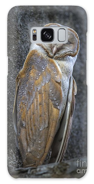 Barn Owl Galaxy Case