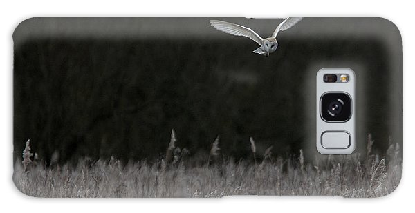Barn Owl Hunting At Dusk Galaxy Case