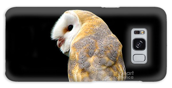 Galaxy Case featuring the photograph Barn Owl by Rose Santuci-Sofranko