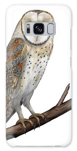 Barn Owl Screech Owl Tyto Alba - Effraie Des Clochers- Lechuza Comun- Tornuggla - Nationalpark Eifel Galaxy Case