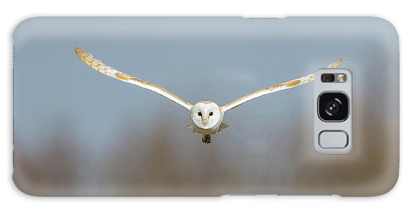 Barn Owl Sculthorpe Moor Galaxy Case