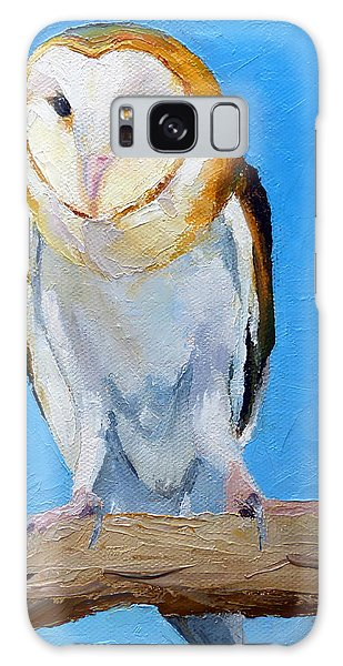 Barn Owl Galaxy Case by Susan Woodward