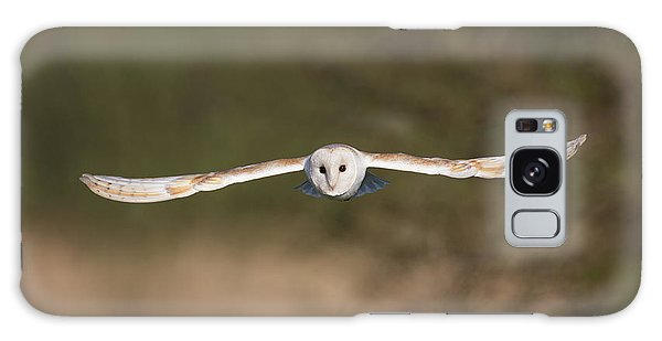 Barn Owl Wingspan Galaxy Case