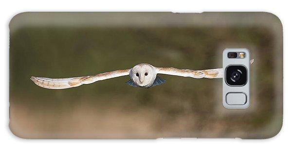Barn Owl Wingspan Galaxy Case