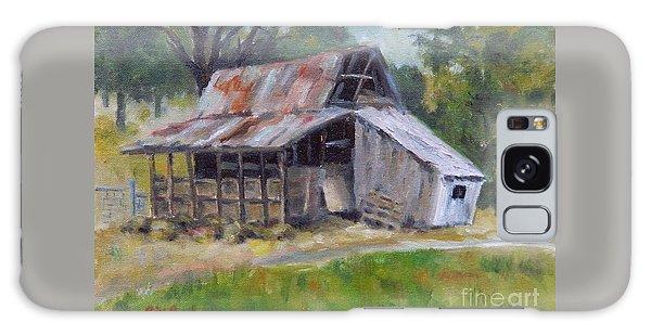 Barn Shack Galaxy Case by William Reed
