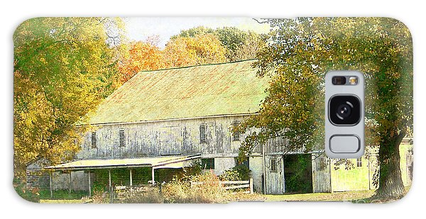 Barn Still Standing Galaxy Case