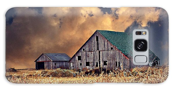 Barn Surrounded With Beauty Galaxy Case