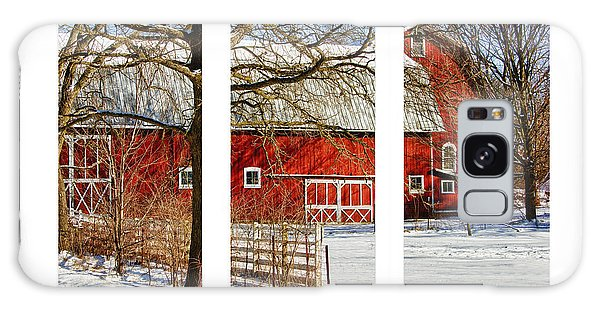 Barn Triptych Galaxy Case