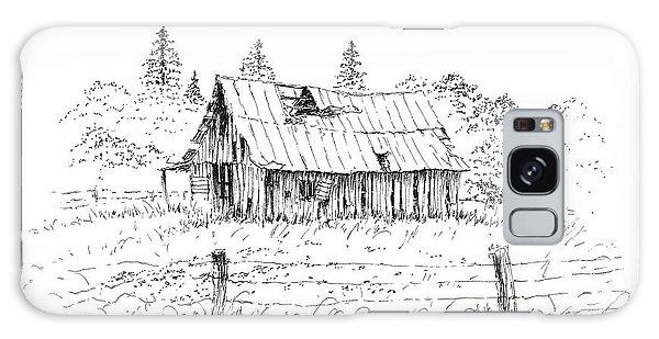 Barn With Skylight Galaxy Case