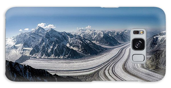 Galaxy Case featuring the photograph Barnard Glacier Alaska by Fred Denner