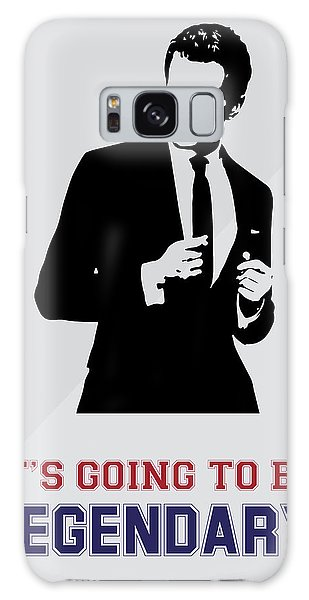 Barney Stinson Poster How I Met Your Mother - It's Going To Be Legendary Galaxy Case