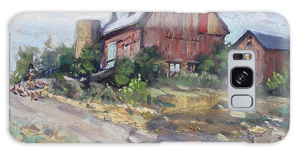 Georgetown Galaxy S8 Case - Barns In Georgetown by Ylli Haruni