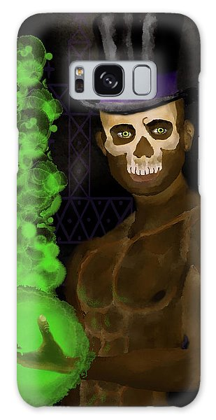 Voodoo Galaxy Case - Baron Samedi by William Depaula