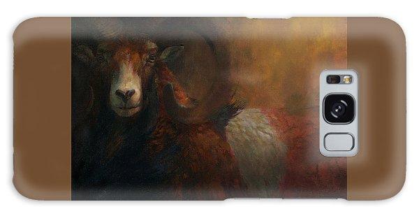 Baroque Mouflon Portrait Galaxy Case