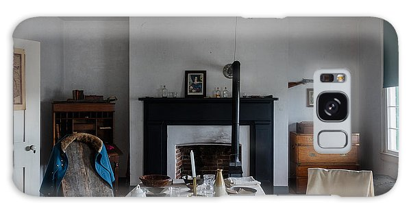 Barracks Interior At Fort Laramie National Historic Site In Goshen County Galaxy Case by Carol M Highsmith