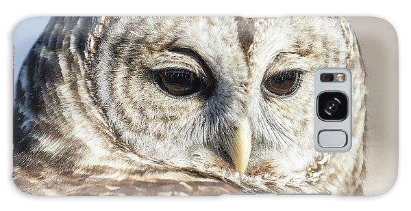 Barred Owl 1 Galaxy Case