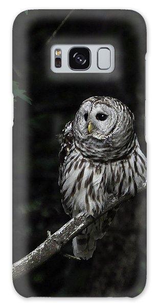 Barred Owl 2 Galaxy Case by Glenn Gordon