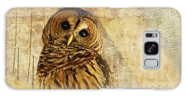 Owl Galaxy Case - Barred Owl by Lois Bryan