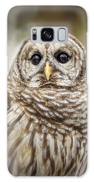 Galaxy Case featuring the photograph Hoot by Steven Sparks