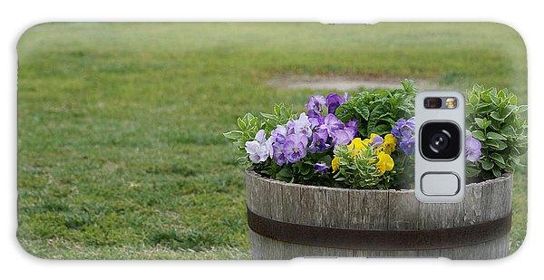 Barrel Of Flowers Galaxy Case