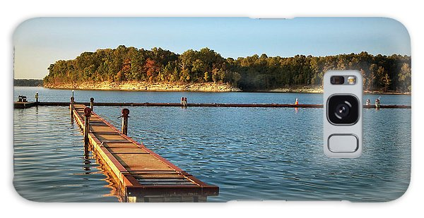 Barren River Lake Dock Galaxy Case