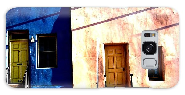 Galaxy Case featuring the photograph Barrio Viejo 1 by Michelle Dallocchio