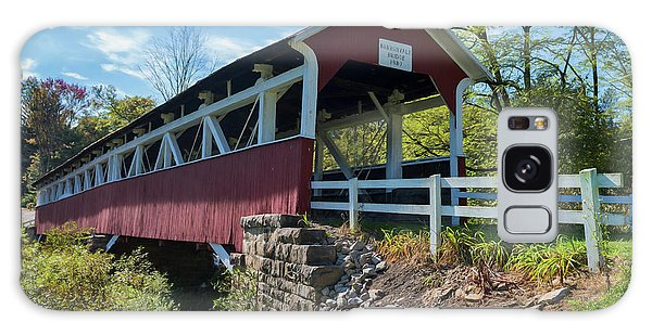 Galaxy Case featuring the photograph Barronvale Bridge  by Cindy Lark Hartman