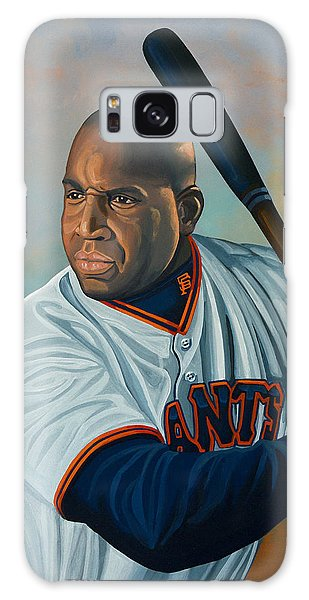 Baseball Bats Galaxy S8 Case - Barry Bonds by Paul Meijering