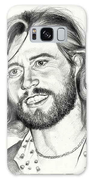 Brothers Galaxy Case - Barry Gibb Portrait by Suzann Sines