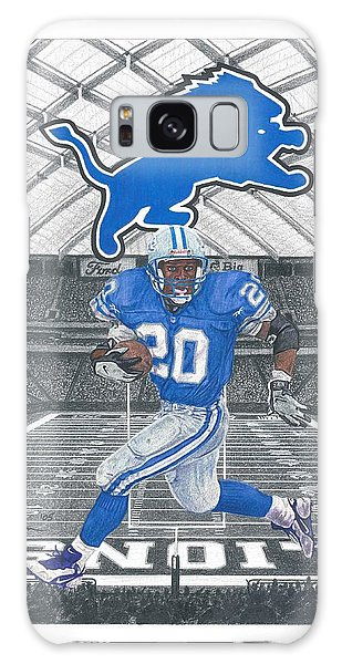 Barry Sanders Galaxy Case