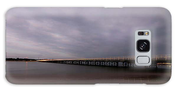 Galaxy Case featuring the photograph Barwon Heads Bridge by Linda Lees