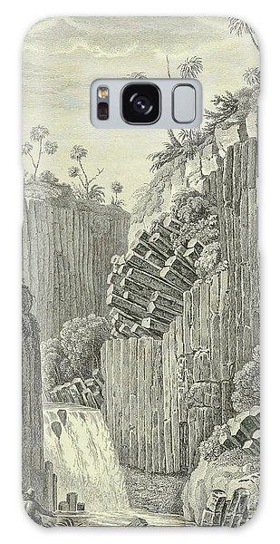 Basalt Galaxy Case - Basalt Rocks And The Cascade De Regla, by Alexander von Humboldt