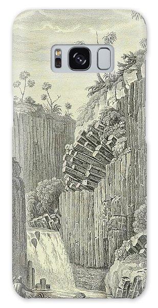 Waterfall Galaxy Case - Basalt Rocks And The Cascade De Regla, by Alexander von Humboldt