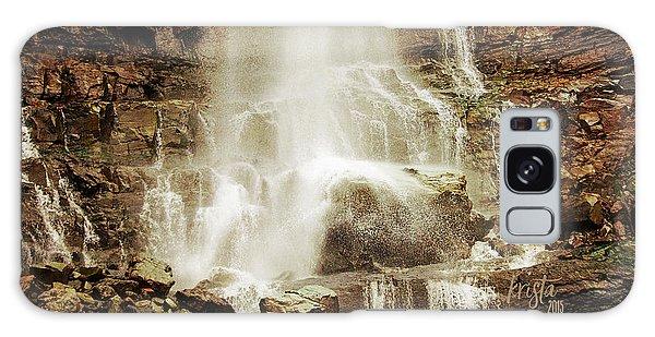 Base Of Cascade Falls Galaxy Case by Krista-