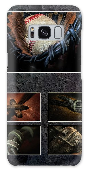 Baseball Galaxy Case - Baseball Collage I by Tom Mc Nemar
