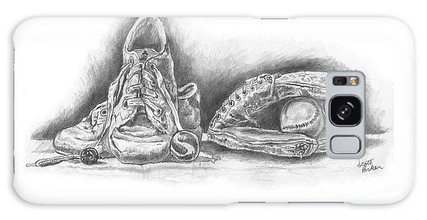 Baseball Gloves And Shoes Galaxy Case