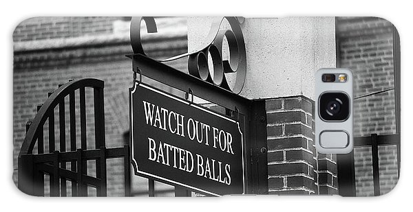 Baseball Warning Bw Galaxy Case