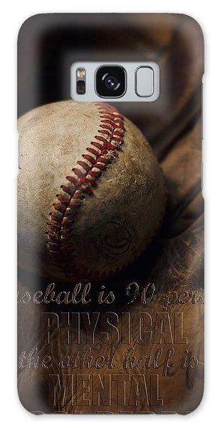 Baseball Yogi Berra Quote Galaxy Case