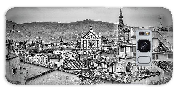Basilica Di Santa Croce Galaxy Case by Sonny Marcyan