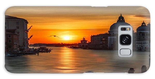 Basilica Di Santa Maria Dela Salute, Venice Galaxy Case by Rod Jellison