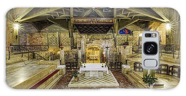 Annunciation Galaxy Case - Basilica Of The Annunciation - Nazareth by Stephen Stookey